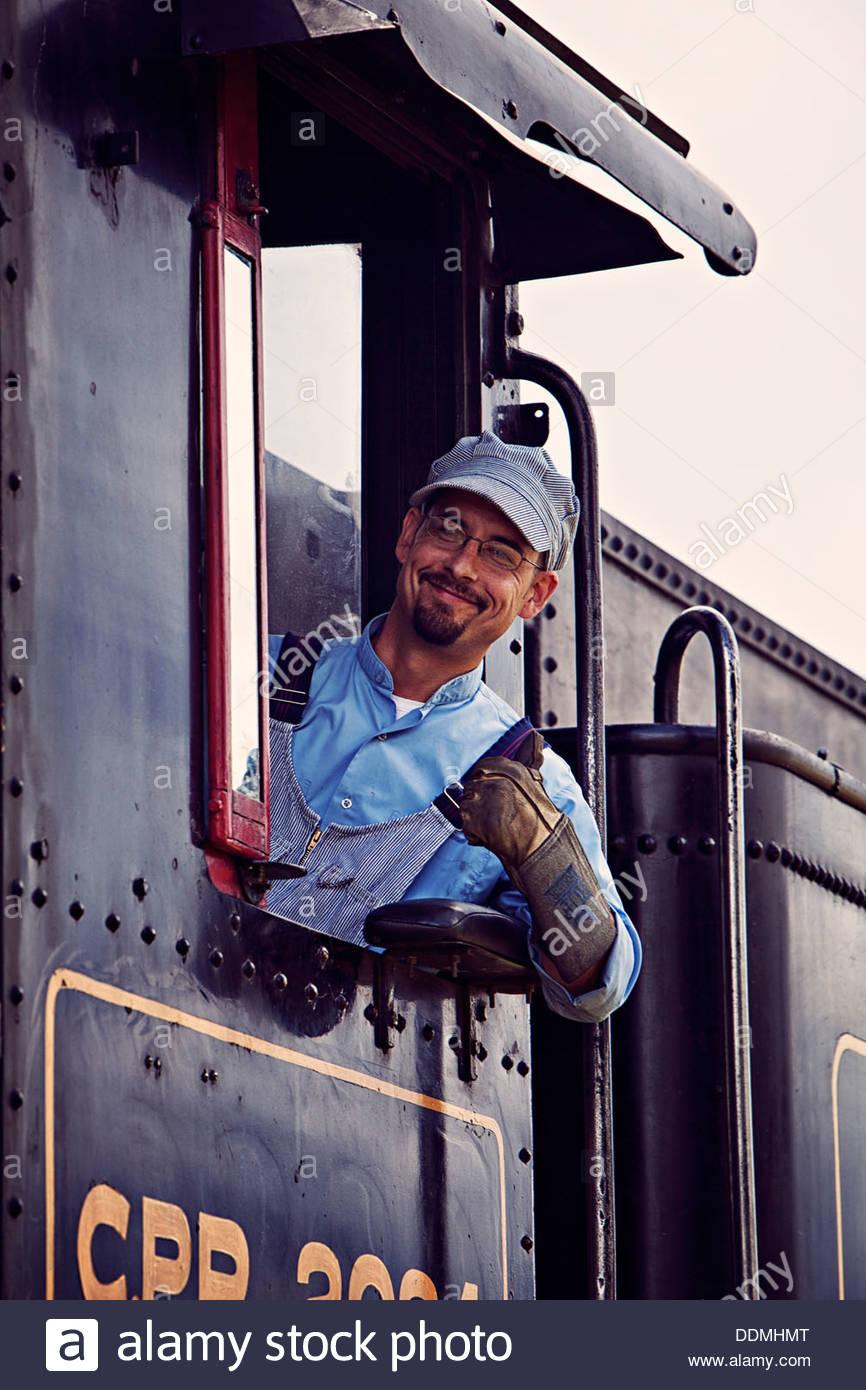 friendly-train-engineer-heritage-park-DDMHMT.jpg