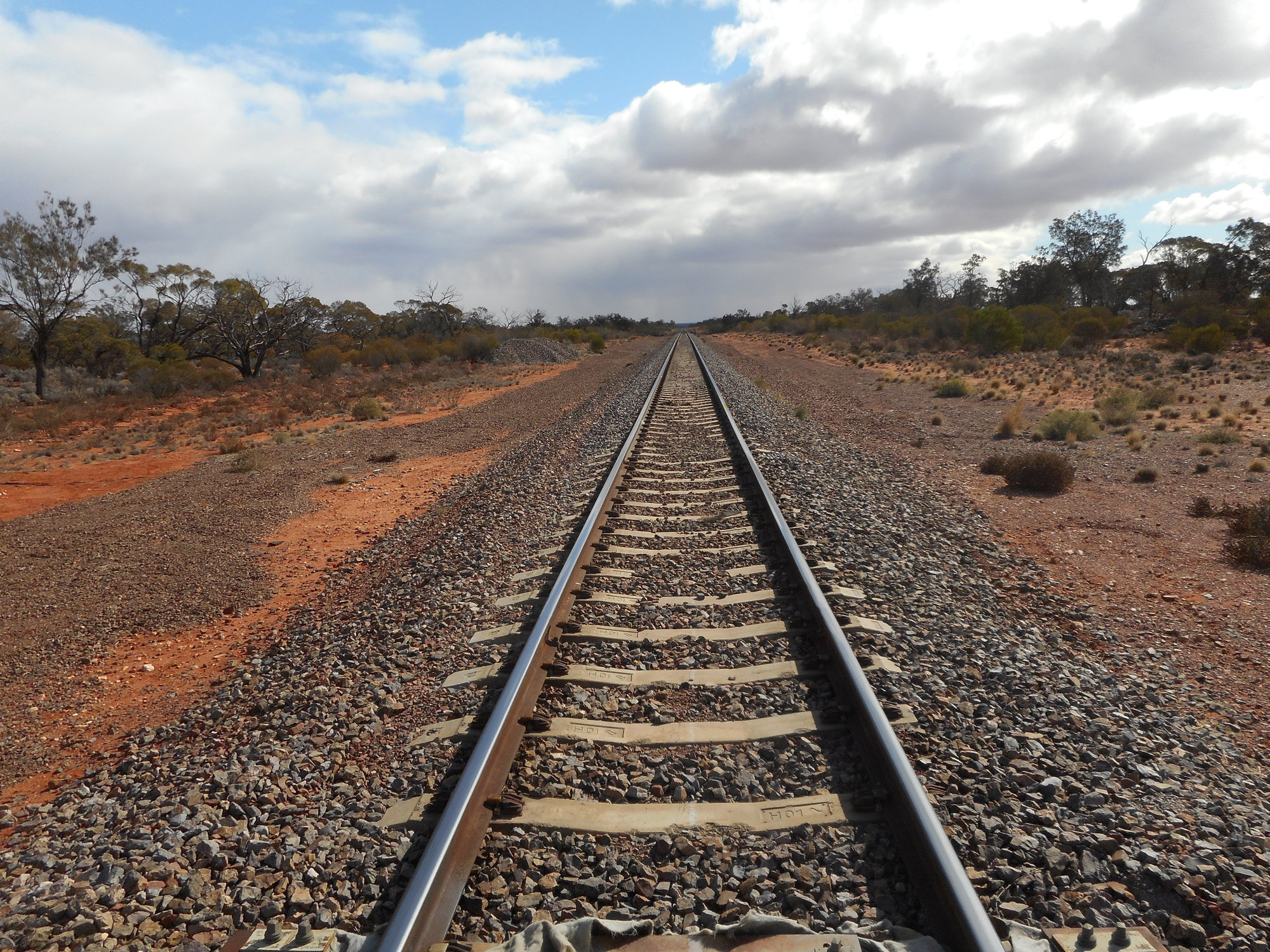 Ghan tracks north.JPG