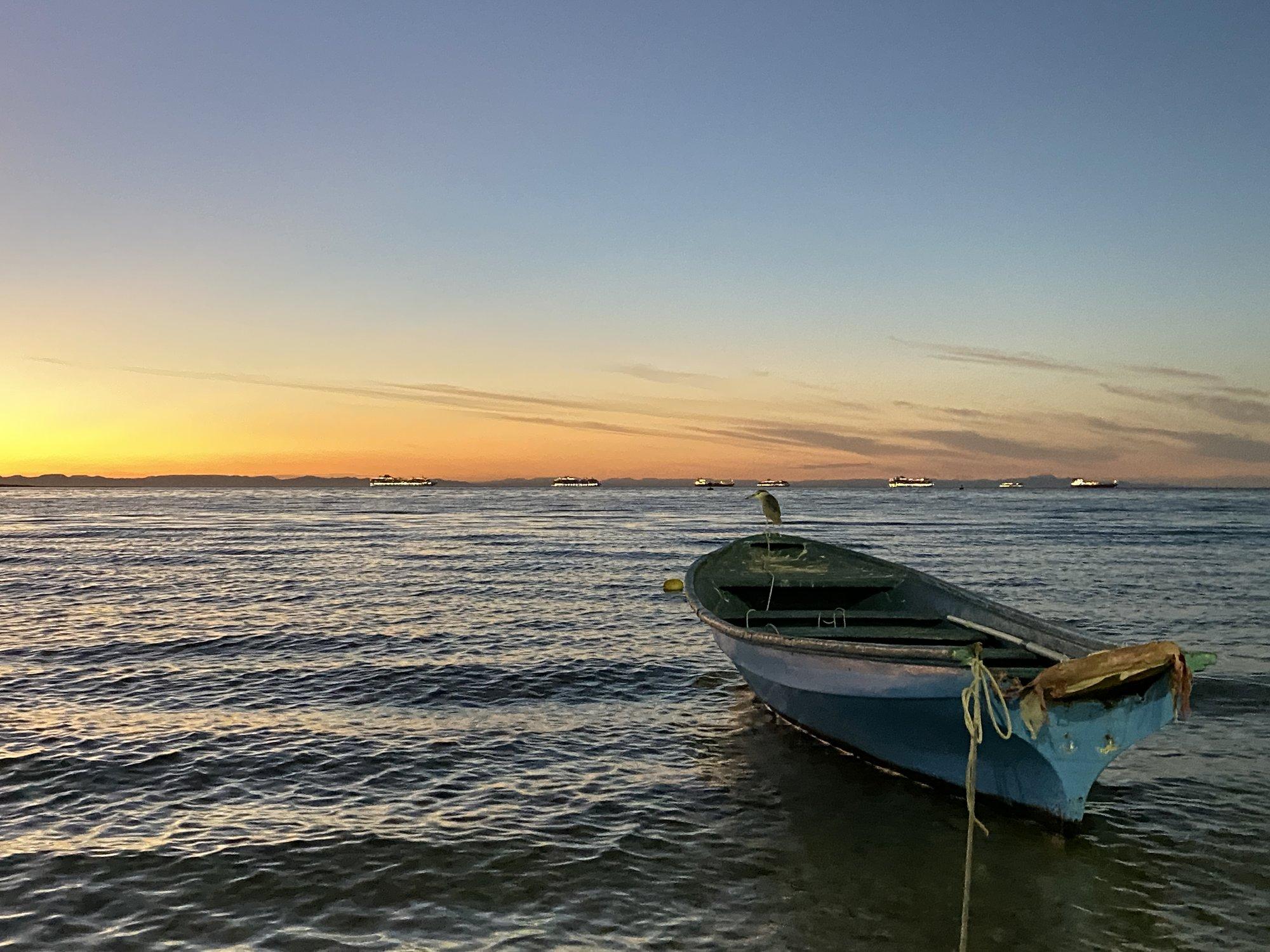 LaPaz Boat Sunset.JPG