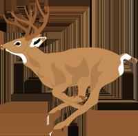 Leaping Deer Side View.svg.hi.png