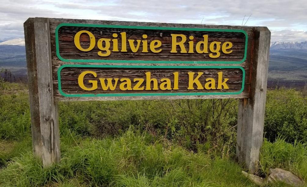 Ogilvie Ridge sign Dempster.jpg