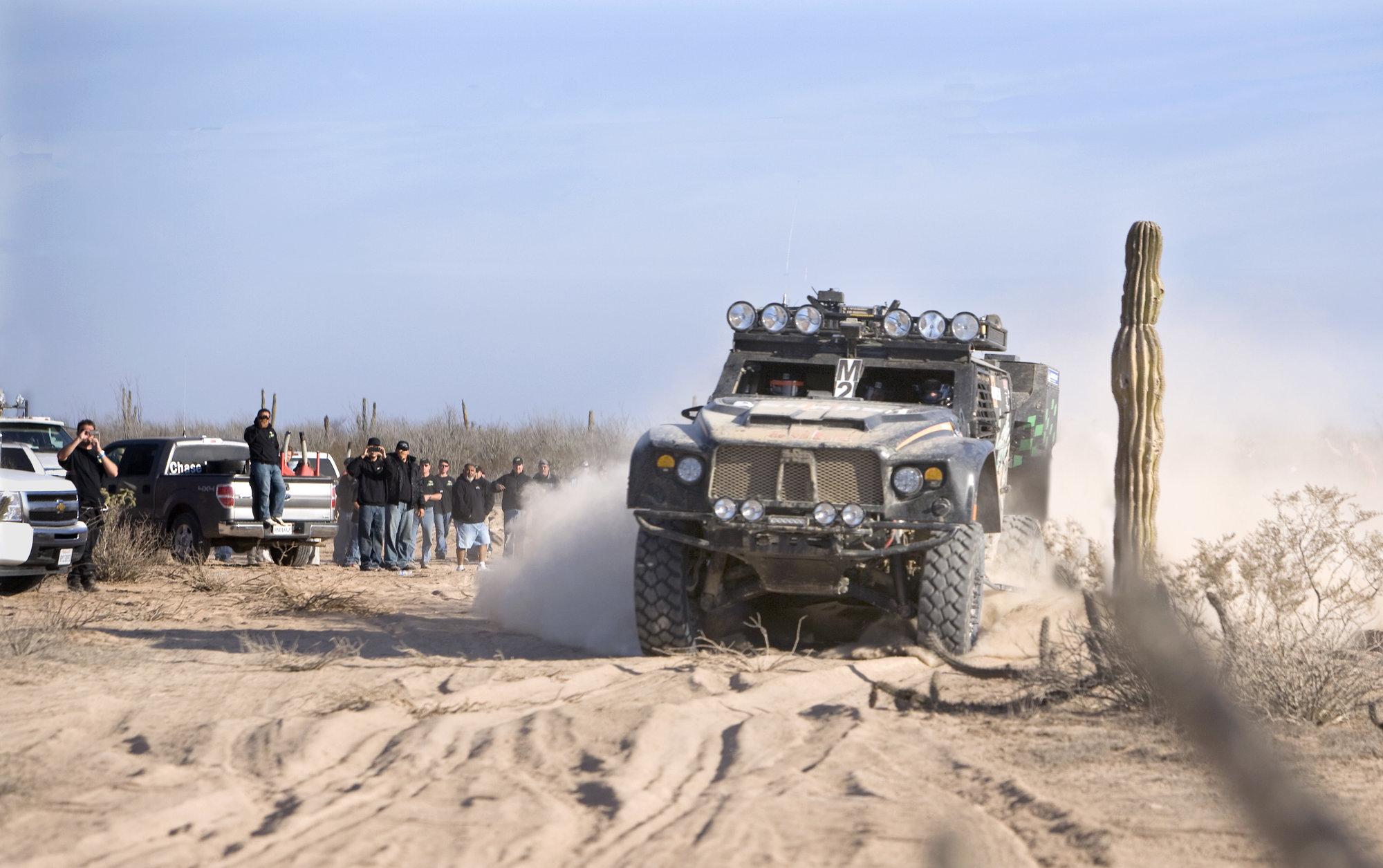 Oshkosh Extreme Racing - LCV on the Baja 08.jpg