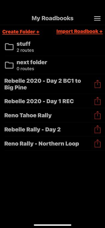 Rally Roadbook Reader My Roadbooks.png