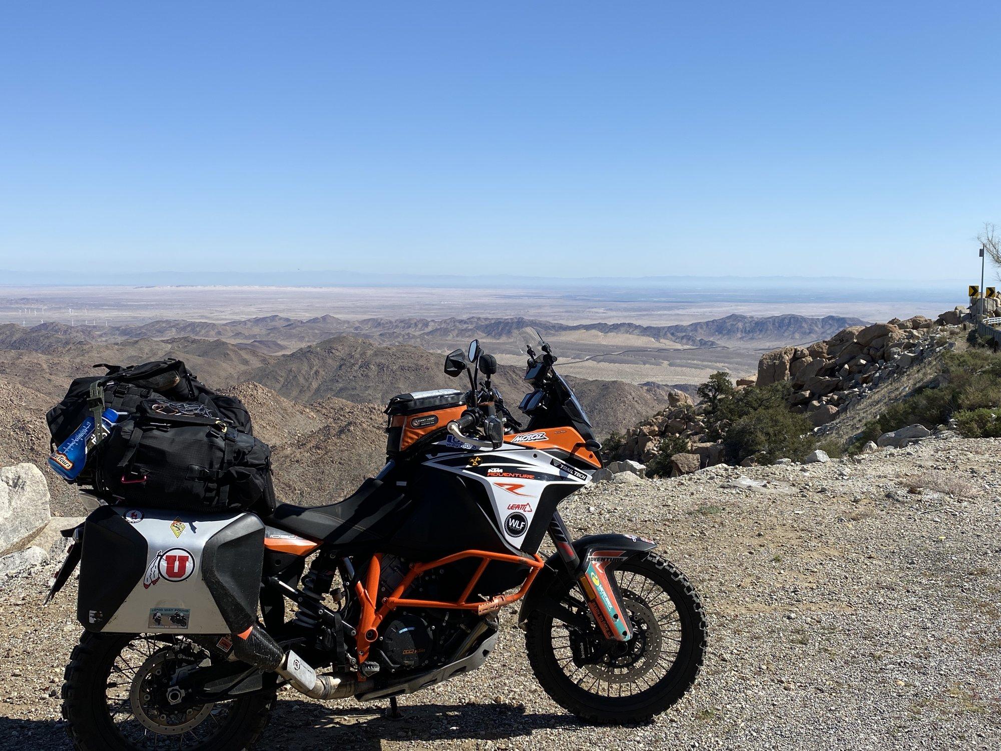 Tecate Canyon Turn Off.JPG