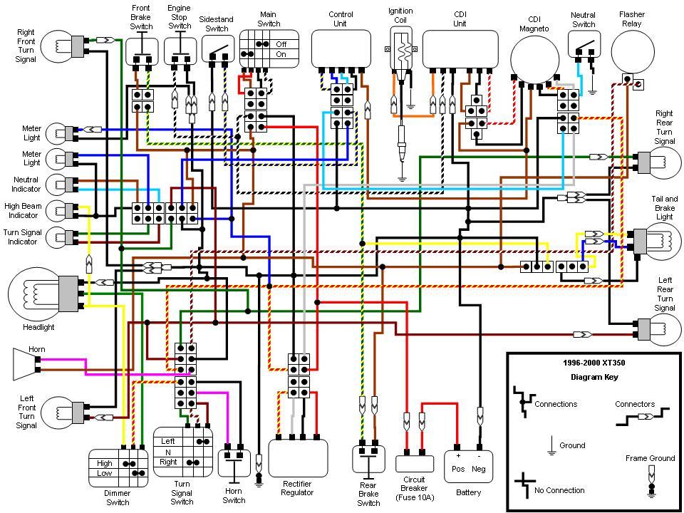 XT350 wiring diagram