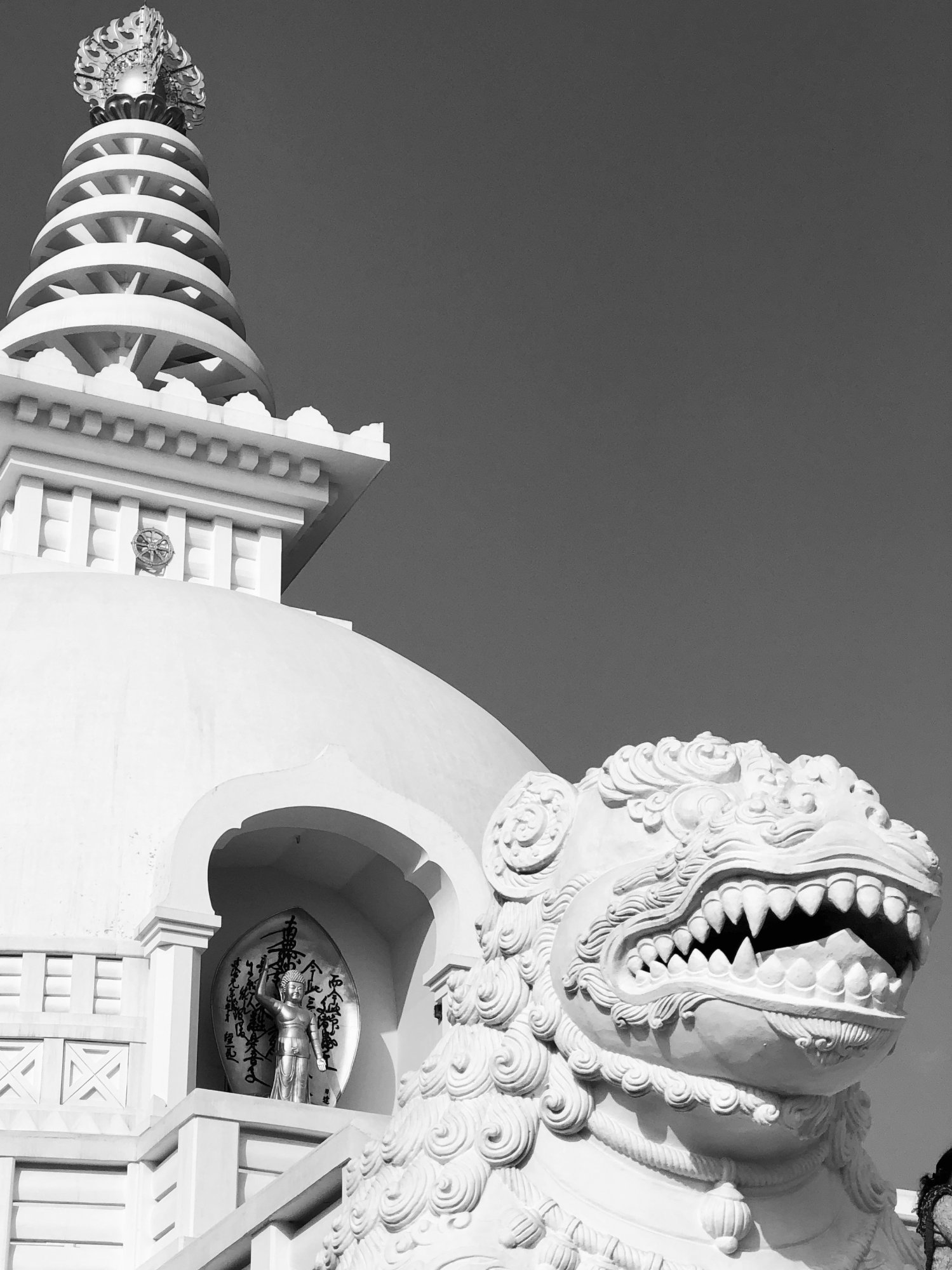 *World Peace Pagoda B&W IMG_6682 2.jpg