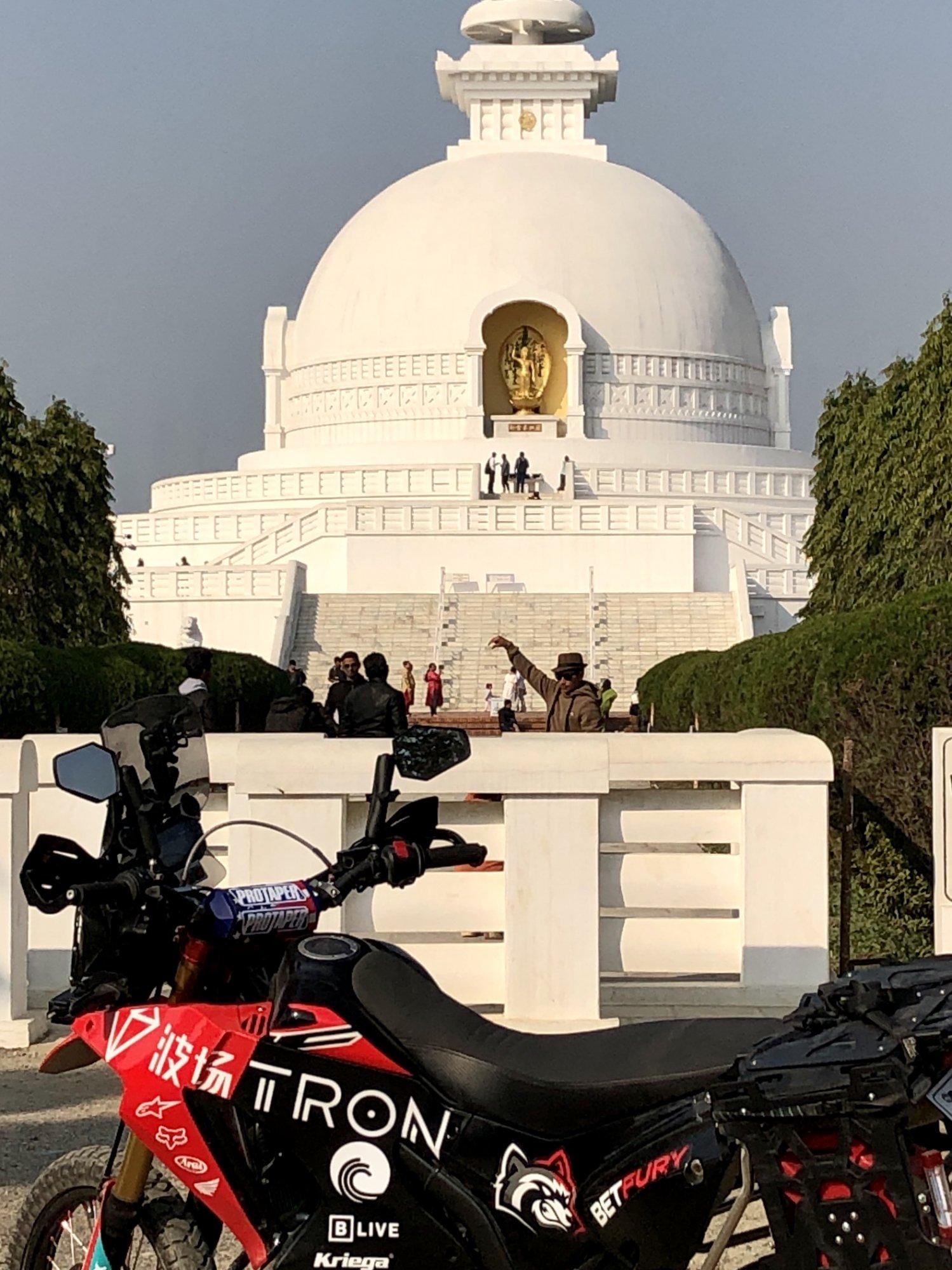World Peace Pagoda with TRXRally IMG_2658.JPG