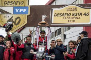 Paulo Goncalves Wins the Desafio Ruta 40 Rally