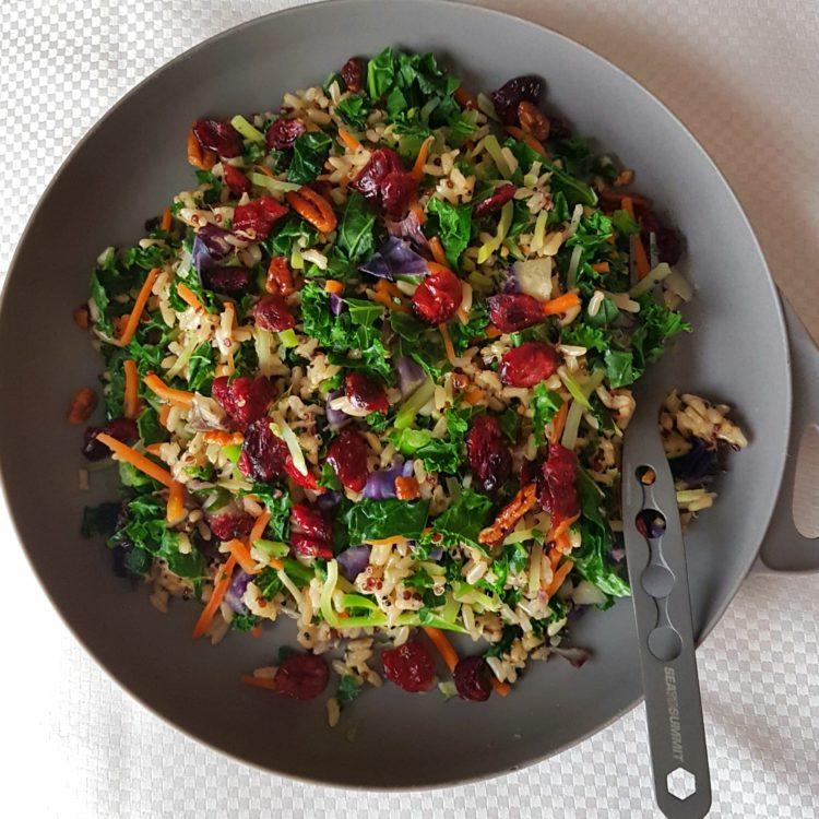 Grain and Kale Warm Bowl Recipe