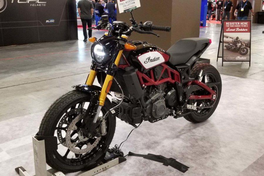 Indian Motorcycle FTR 1200 at AIMExpo, LAs Vegas 2018