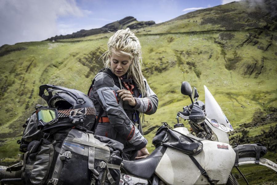 motorcycle crash test