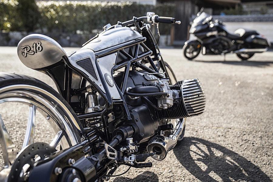 CW-ZON custom build with prototype BMW Boxer engine -- photo courtesy of CUSTOM WORKS ZON