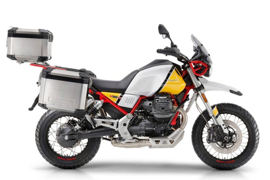Moto Guzzi V85 TT Retro-Adventure Bike now available for pre-booking