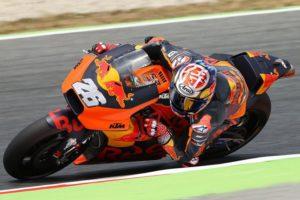 Pedrosa riding KTM