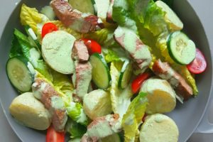 Minty Lamb and Potato Salad