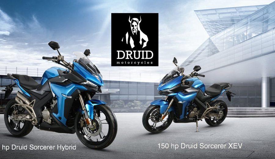 Druid hybrid electric motorcycle