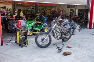 Fixing Your Bike In Unfamiliar Territory