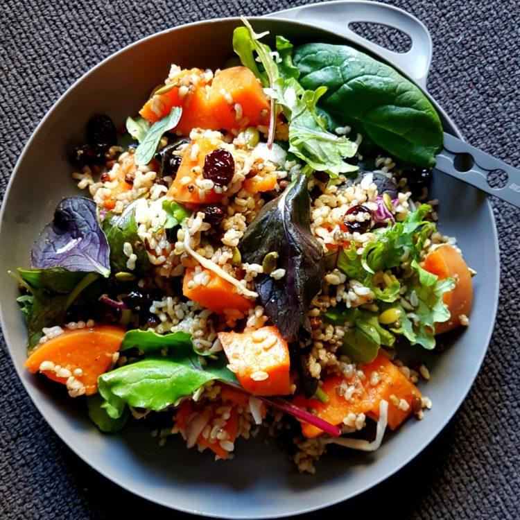 Sweet Potato Grain Salad