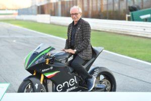 MotoE Driving Electric Road Bike Tech