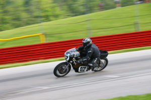 Vintage road racing.  Photo credit: AMA