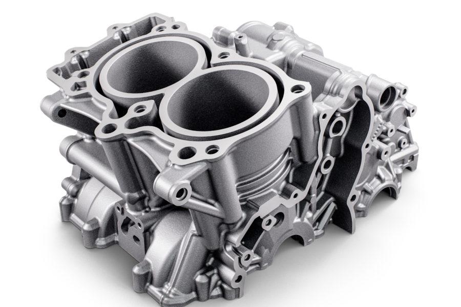 KTM 790 engine. Photo: KTM