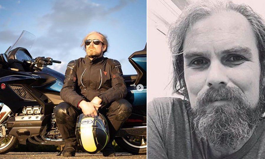 Motojournalist Davey Johnson has gone missing.
