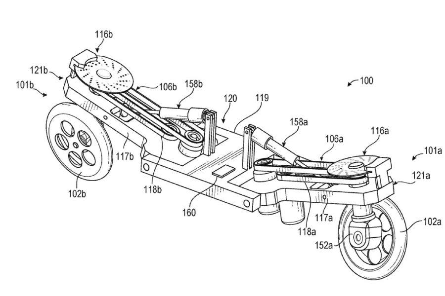 Facebook Trying Robotic Self Balancing Electric Motorcycle