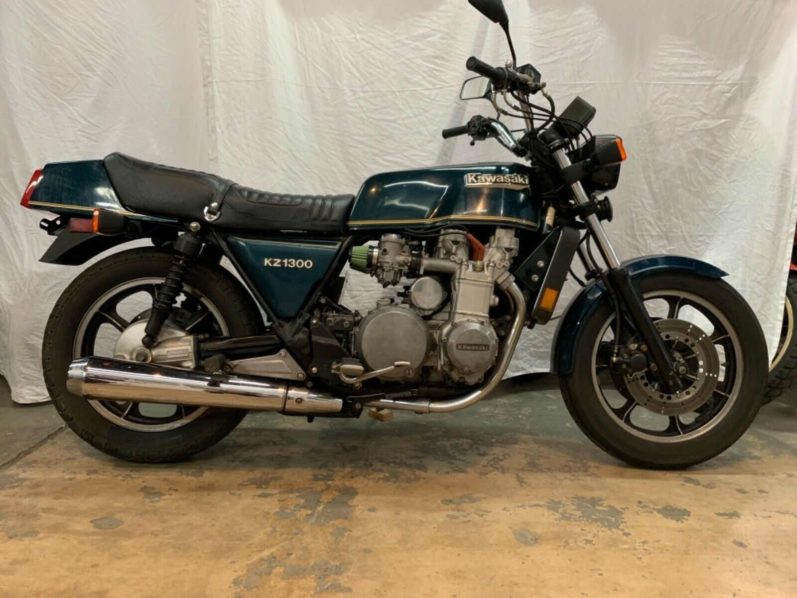 1979 Kawasaki Kz1300 The Other Japanese Six Cylinder Behemoth Adventure Rider