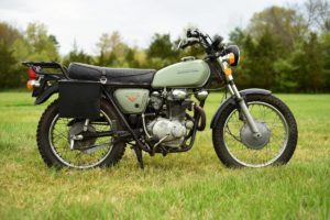 A classic bike, even if the paint isn't standard. Photo: Craigslist