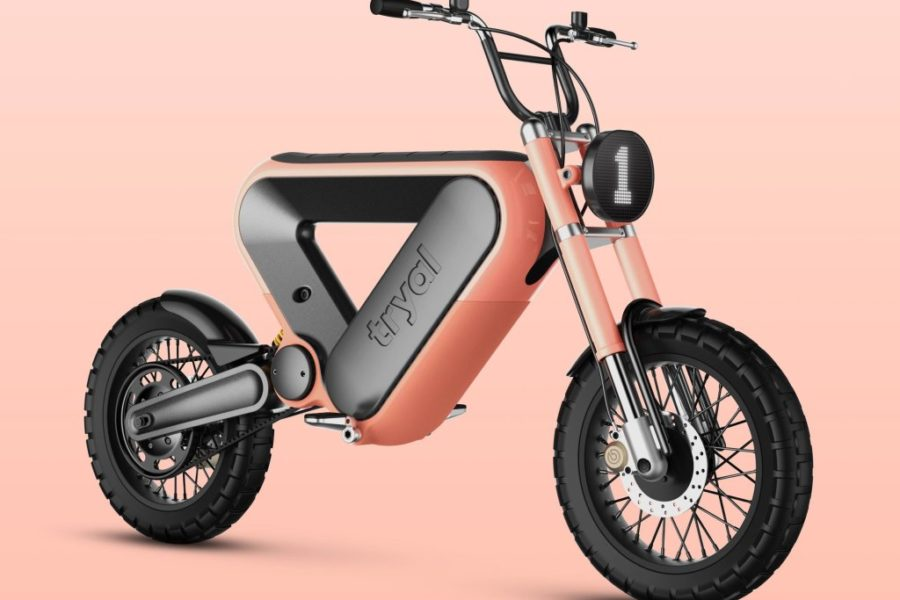 Design Challenge Winner; Tryal Electric Motorcycle