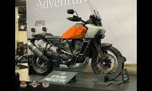 Harley Pan America And Streetfighter Seen Undisguised
