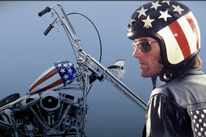 Peter Fonda defined the role of an outlaw biker. Photo: PeterFonda.com