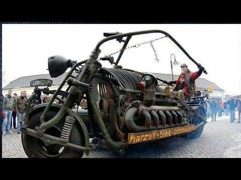 Big engine motorcycle