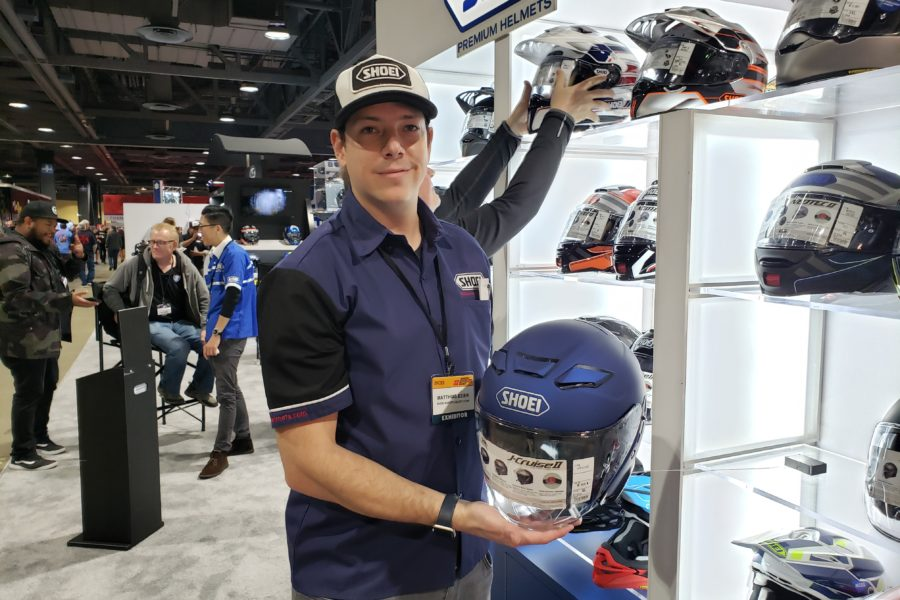 The J-Cruise II is an update over the previous J-Cruise helmet. Photo: Zac Kurylyk