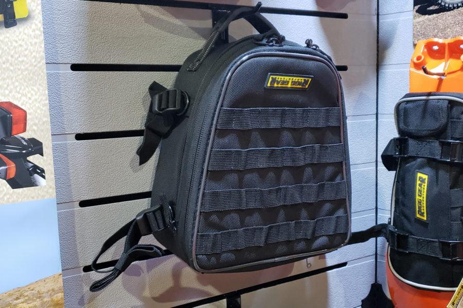Nelson Rigg's new Dual Sport/Enduro tailbag. Photo: Zac Kurylyk