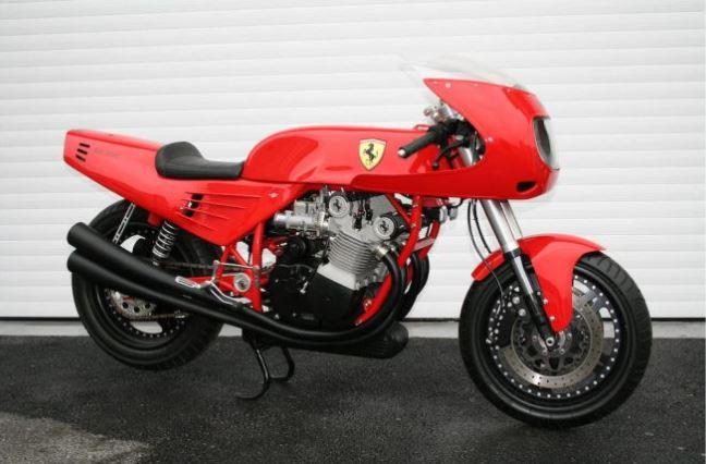 Ferrari 900 motorcycle