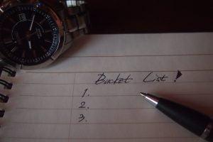 ADV travel bucket list