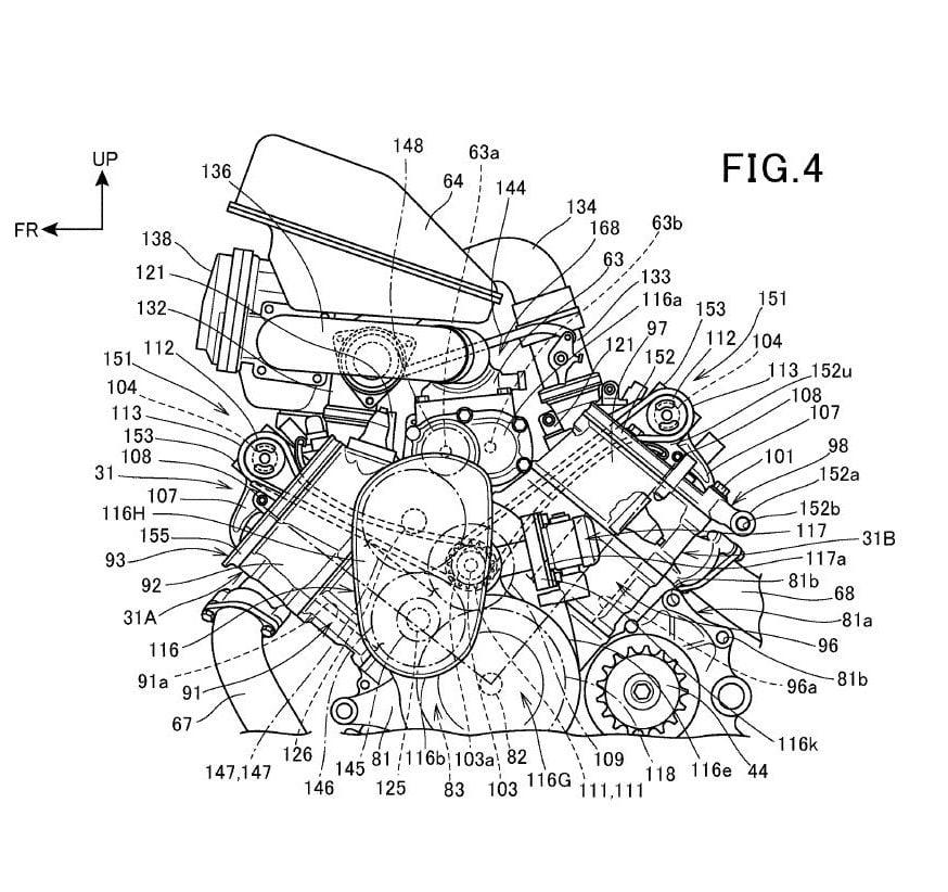 Honda Looking At Motorcycle Supercharging? - Adventure Rider