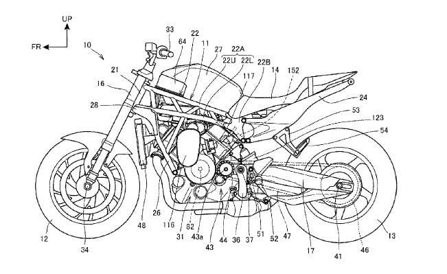 Honda Supercharger motorcycle