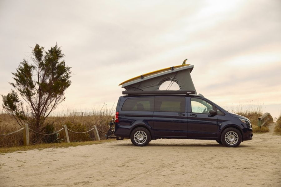 A camper van for the 2020s. Photo: Mercedes