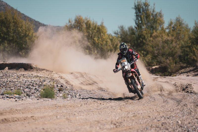 Brabec wins again! Photo: Honda