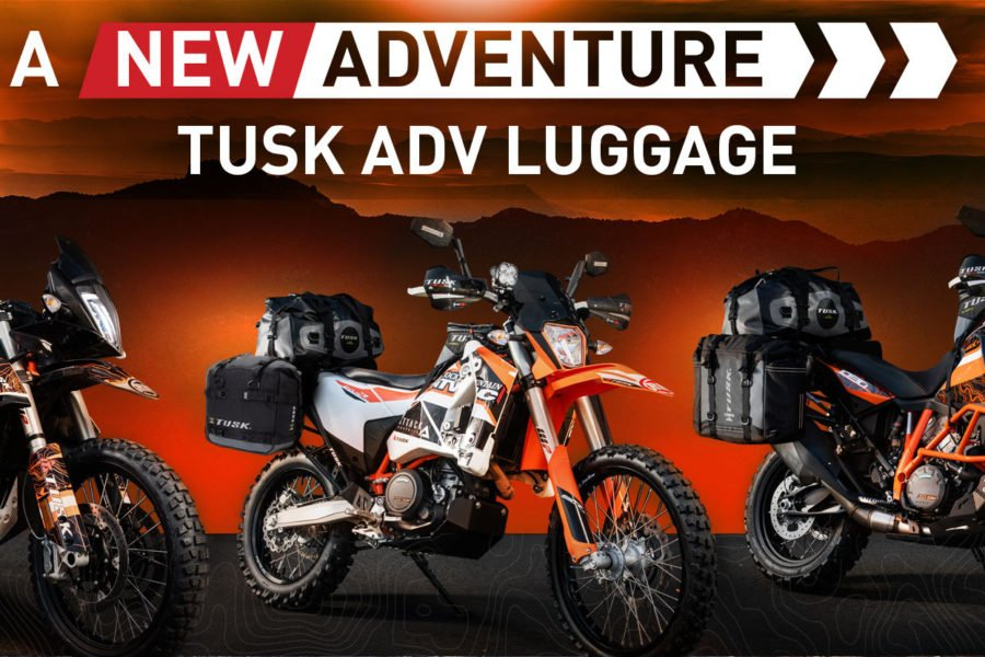 Tusk has new adventure luggage options. Photo: RMATV