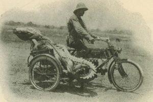 German hunter H K Heiland in Australia's Northern Territory in 1911.
