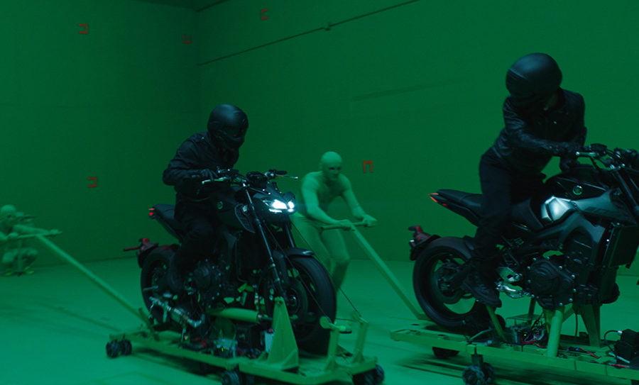 John Wick 3 green screen