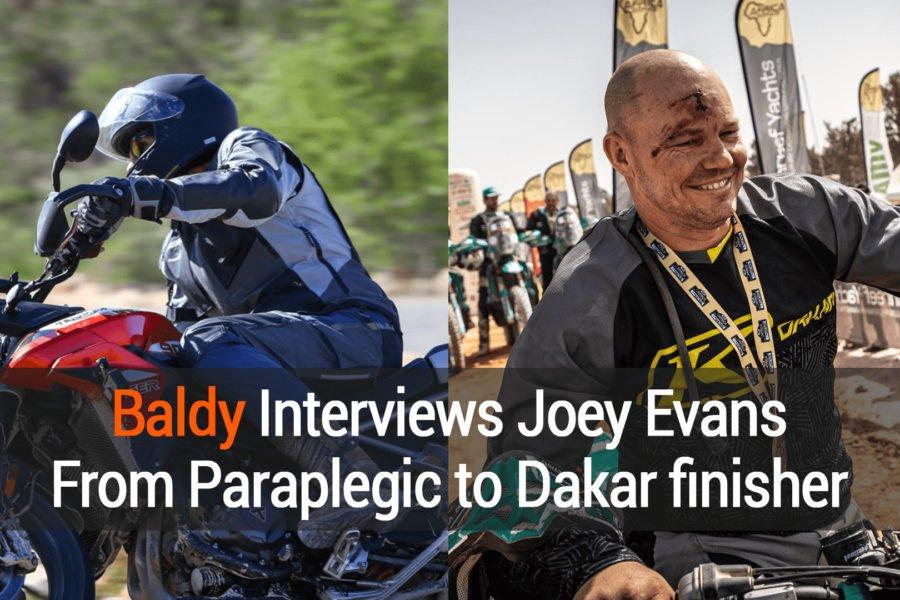 Baldy Interviews The Legend Joey Evans
