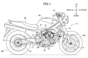 Honda V-Twin Naked Patent