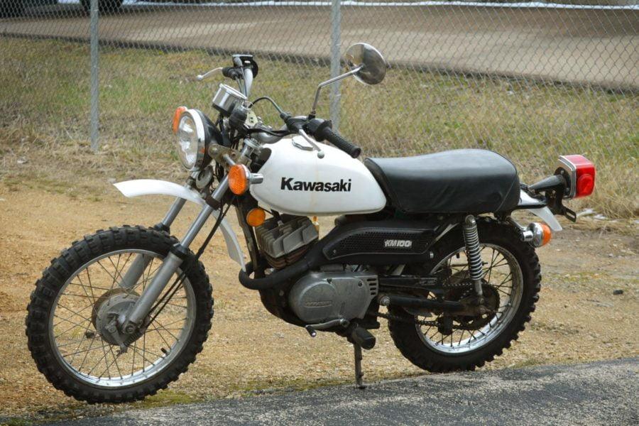 A rareish '70s minibike. Photo: BringATrailer