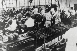manufacturer production line