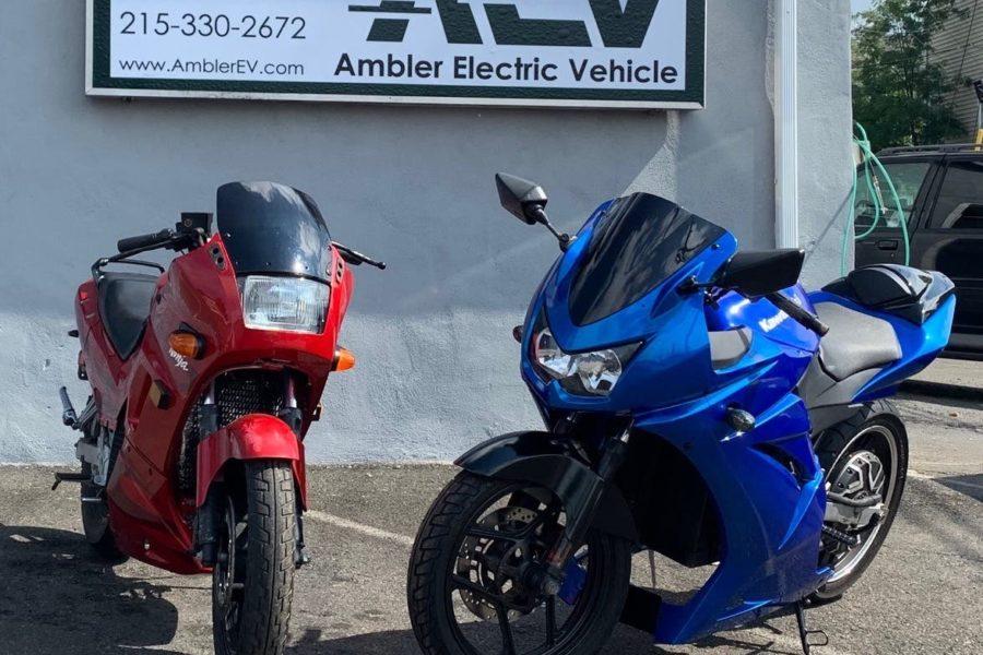 Escobar electric moto kits