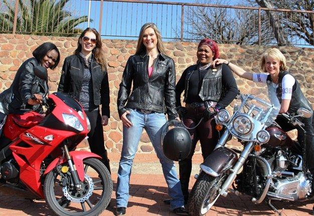 female women motorcycle riders